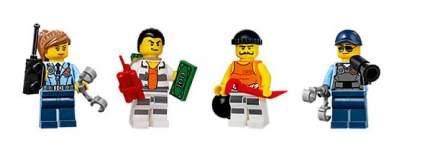 Конструктор LEGO City Полицейские и арестанты