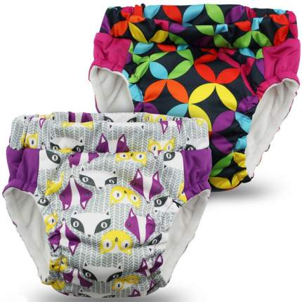 Трусики тренировочные Kanga Care Lil Learnerz Bonnie&Jeweled M черный/фиолетовый