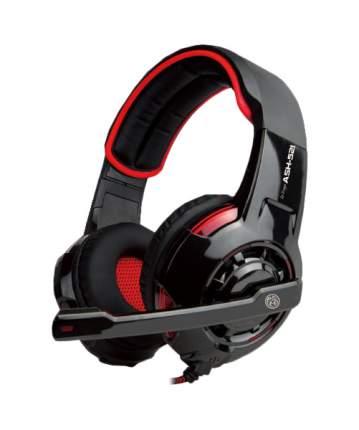 Игровые наушники Marvo ASH-521 Red/Black