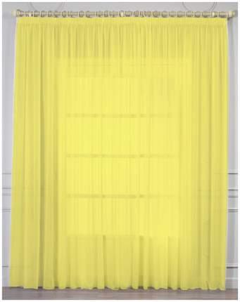 Тюль Amore Mio RR 109 400*270 см Желтый