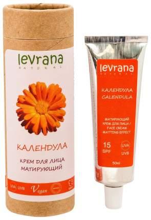 Крем для лица Levrana Календула матирующий эффект 15SPF 50 мл