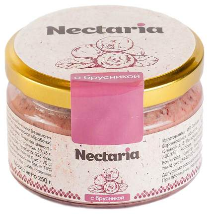 Мед Nectaria брусника 250 г