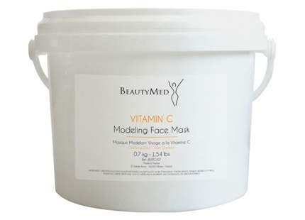 Отбеливающая пластифицирующая альгинатная маска BeautyMed с витамином С для лица 700 г