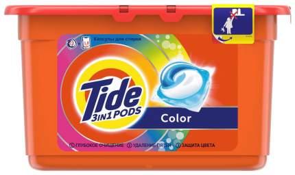 Гель для стирки Tide в растворимых капсулах color 12*24.8 г