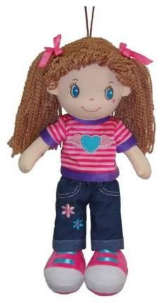 Кукла Creation Manufactory Брюнетка в джинсах мягконабивная, 20 см