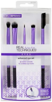 Кисть для макияжа Real Techniques Enhanced Eye Set набор 5 шт