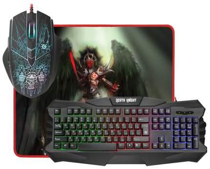 Комплект клавиатура и мышь Defender Death Knight MKP-007 RU