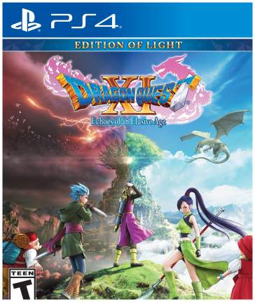 Игра для PlayStation 4 Dragon Quest XI