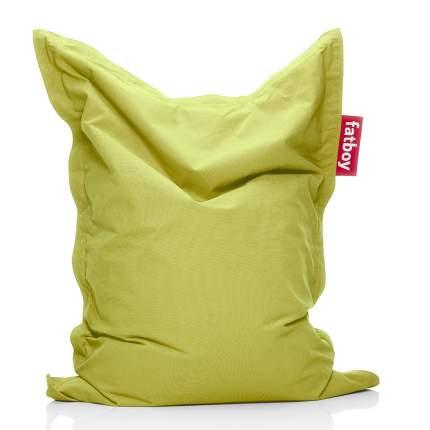 Кресло-мешок Fatboy Junior, размер XL, хлопок, лимонно-зеленый меланж