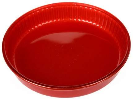Посуда для СВЧ круглая 26 см (красный) 59044R