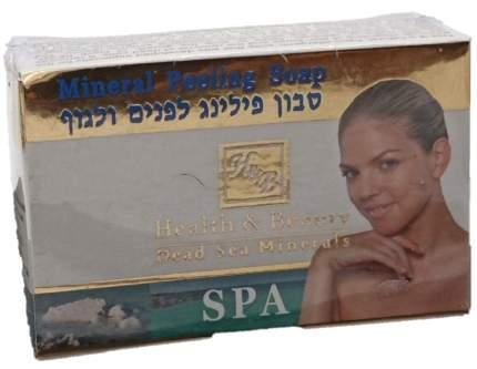 Мыло-пилинг Health & Beauty 125г
