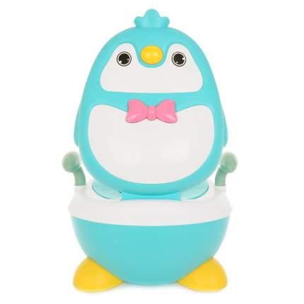 Детский горшок Pituso Пингвиненок Голубой