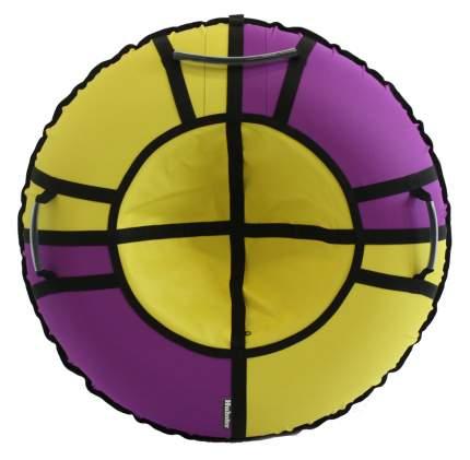 Тюбинг Hubster Хайп фиолетовый-желтый 100 см