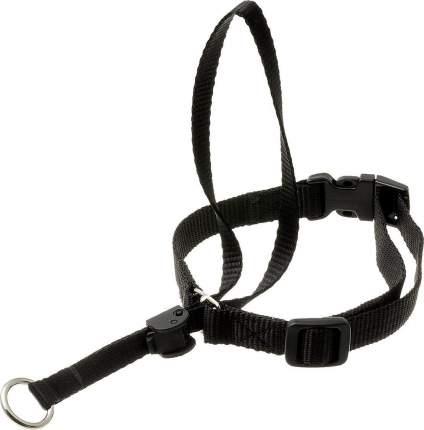 Недоуздок для собак V.I.Pet PetLine, черный, размер 2, шея 35-46 см