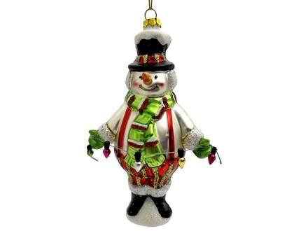Елочная игрушка Crystal Deco 8,5х5,1х15,5 см 1 шт Y132153
