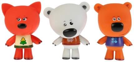 Набор из 3-х игрушек для купания «Лисичка, Белая Тучка, Кеша», 10 см, в коробке Тошка
