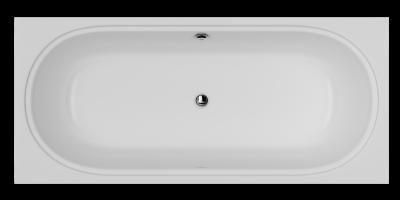 Акриловая ванна AM.PM Bliss L 180х80 без гидромассажа