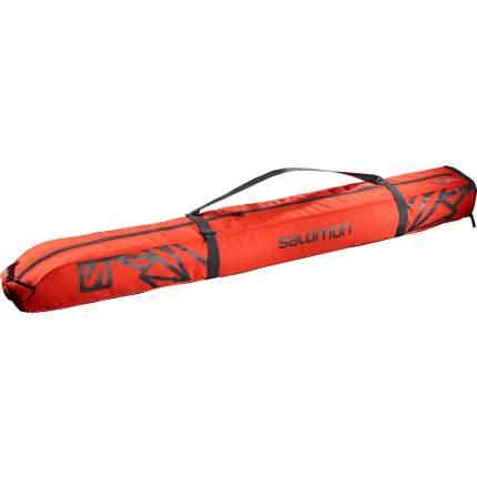 Чехол для лыж Salomon Extend 1pair Skiba, cherry tomato/ebony, 185 см