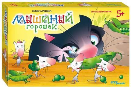 Настольная игра Step Puzzle Мышиный горошек, 3 в 1
