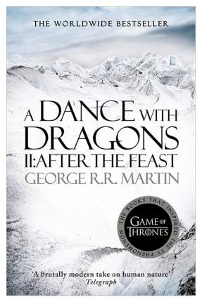 "Книга Harper Collins Publishers George R.R. Martin ""A Dance With Dragons: Part 2"""