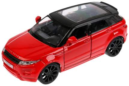 Машинка инерционная Технопарк Land Rover Range Rover Evoque металлическая 12,5см EVOQUE-RD