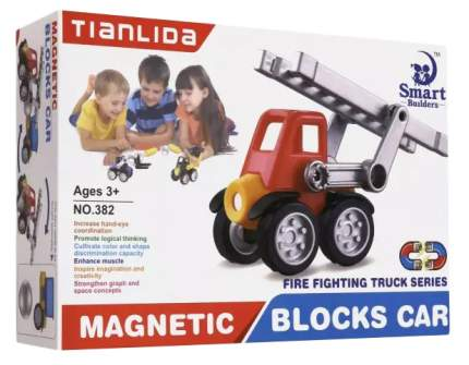 Конструктор Tianlida. Пожарная машинка