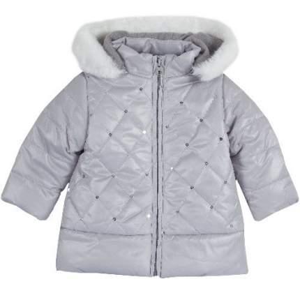 Куртка Chicco для девочек р.80 цв.светло-серый