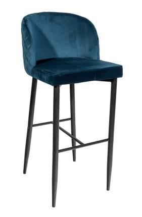 Мягкий барный стул STOOL GROUP MC11B HLR-63 Сине-зеленый, вельвет