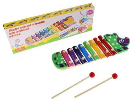 """Музыкальная игрушка """"Металлофон. Ёжик"""", 8 тонов Sima-Land"""