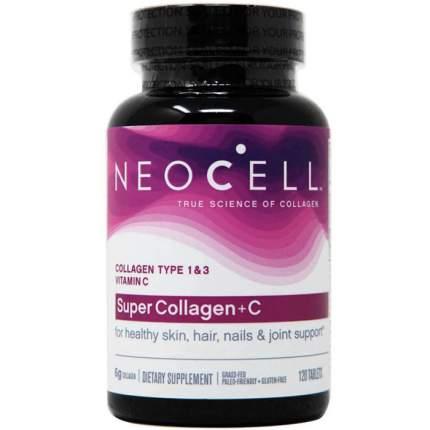 Neocell Super Collagen C (120 таблеток) - коллаген тип 1 и 3 с витамином C в таблетках