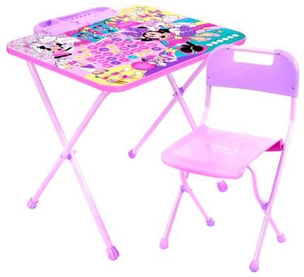Набор детской складной мебели Nika Дисней. Минни Маус