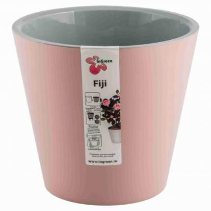 Горшок для цветов INGREEN ING1557АР Фиджи D 330 мм/16 л на колесиках английская роза