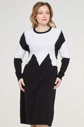 Платье женское VAY 182-2384 черное 46 RU