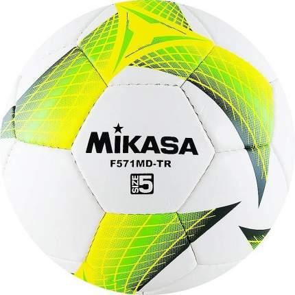 Футбольный мяч Mikasa F571MD-TR №5 white/green