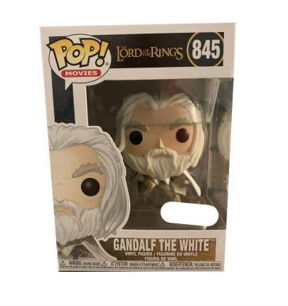 Фигурка Funko POP! Lord of The Rings: Gandalf the White with Sword Hot Topic Exc