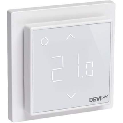 Терморегулятор для теплых полов Devi Devireg Smart Wi-Fi polar white