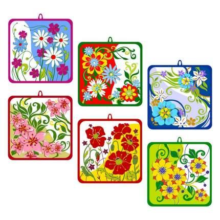 """Прихватка """"Полевые цветы"""", 15х15 см"""