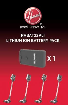 Аккумуляторная батарея для пылесосов Hoover Rhapsody RABAT22VLI