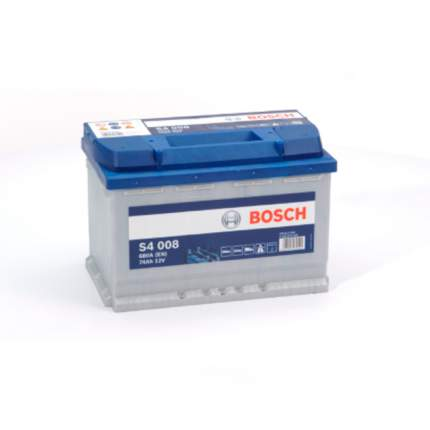 Аккумуляторная Батарея S4 Silver [12v 74ah 680a B13] Bosch