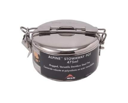 Туристическая кастрюля MSR Alpine Stowaway Pots стальная 0,48 л
