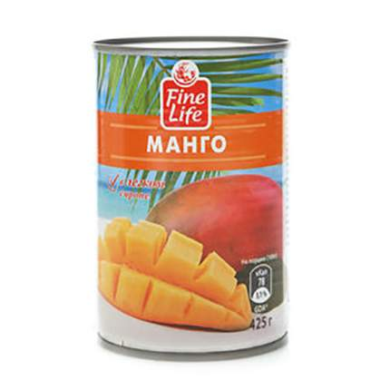 Манго Fine Life в легком сиропе 425 г