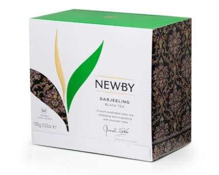 Чай черный Newby черный darjeeling 50 пакетиков