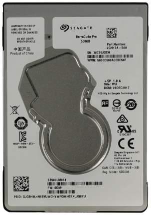 Внутренний жесткий диск Seagate BarraCuda Pro 500GB (ST500LM034)