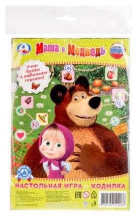Семейная настольная игра Умка Азбука, Маша и Медведь