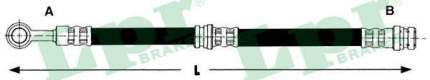 Тормозной шланг Lpr 6T47442