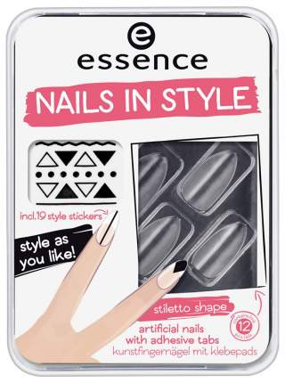 Накладные ногти Essence Nails In Style 04 Clear For You? 12 шт