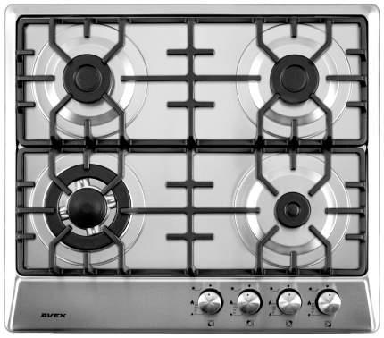 Встраиваемая варочная панель газовая AVEX NS 6044 X Silver