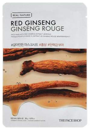 Маска для лица The Face Shop Real Nature Red Ginseng Face Mask 20 г