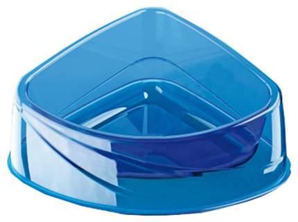 Одинарная миска для кошек и собак Georplast, пластик, прозрачный, 0.24 л