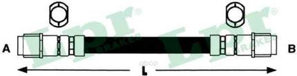 Шланг тормозной системы Lpr 6T47891 передний